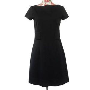 3/$35 Theory Adrianne Black Short Sleeve Dress